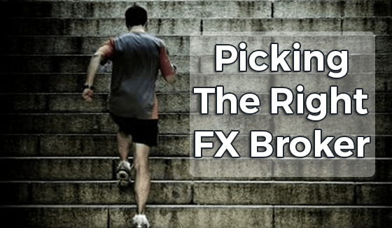 How to find the right forex broker