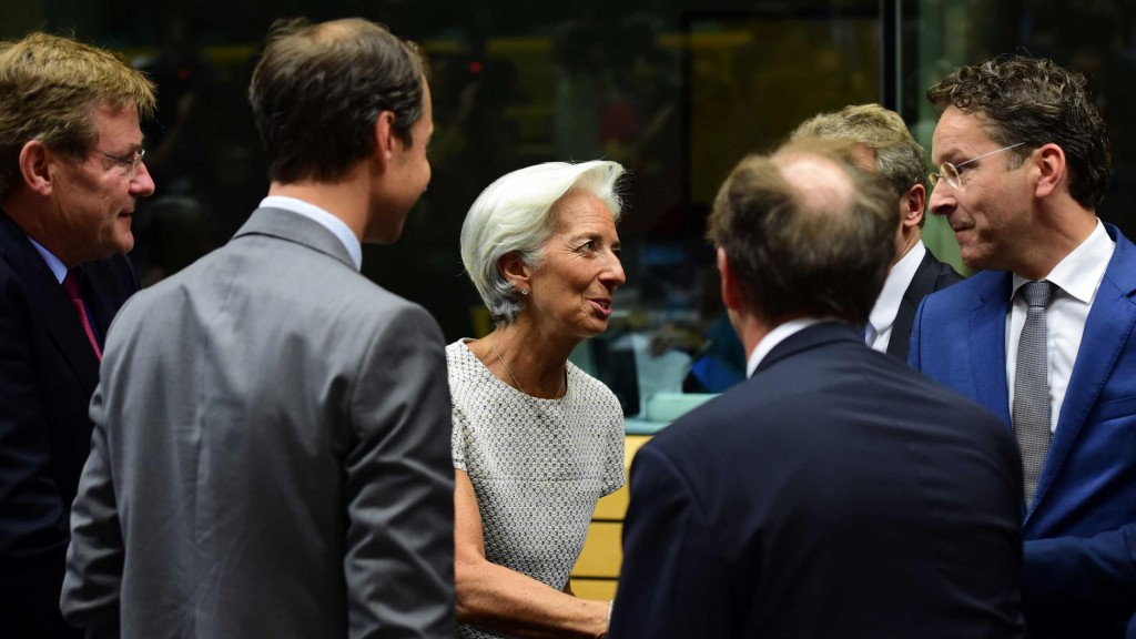 Greece, Troika, Lagarde