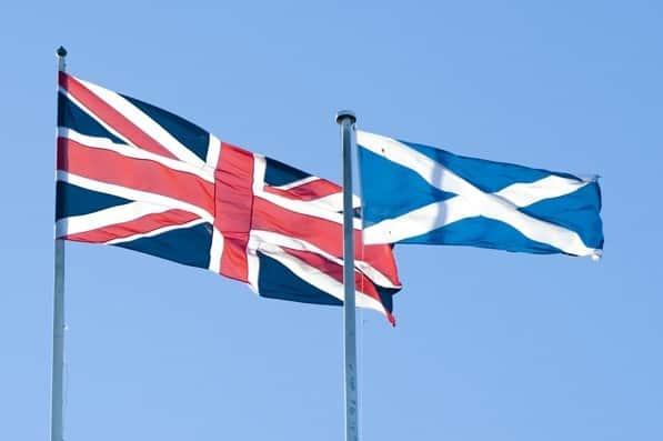 Egyesült Királyság - Nagy-Britannia - Skócia zászló