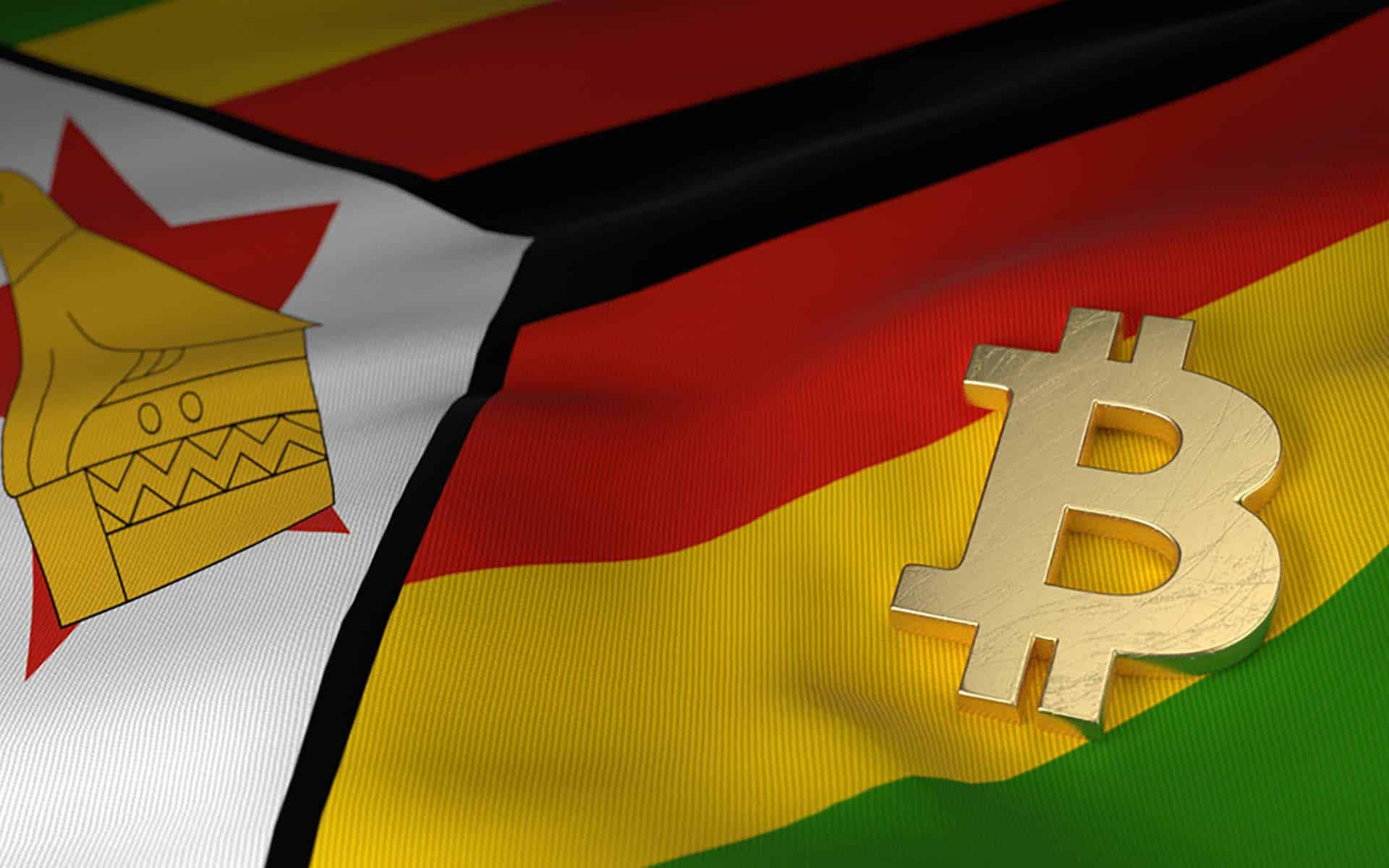 Why did bitcoin prices double in Zimbabwe?