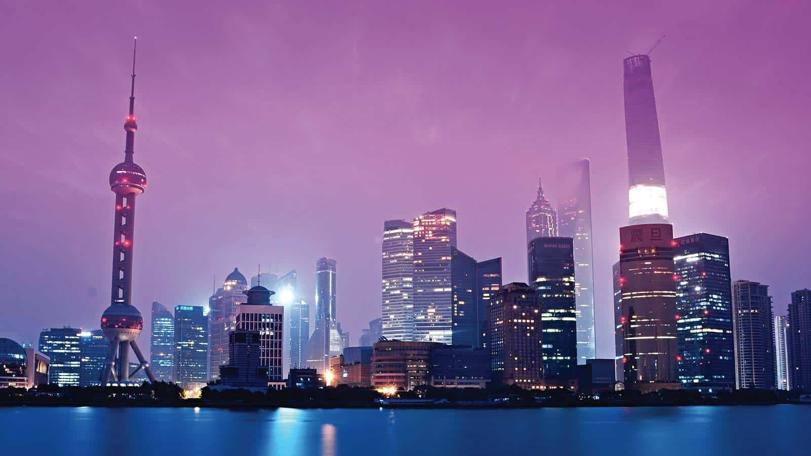 Shanghai as a representative of the second largest economy in the world