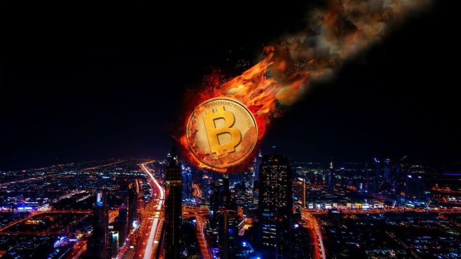 Bitcoin rơi tự do
